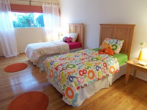 This children's bedroom was designed to make mom imagine her own children living in this home.